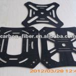 CNC cutting customized quadcopter frame hobby parts