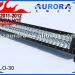 Auroa Double Row 30inch Led off road light bar(combination), emark 4 led running light