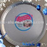 In-flight embossed aluminium foil tray
