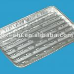 In-flight BBQ aluminium tray
