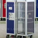 Transparent Exhibition Trolley/ Show Cart / Movable Show Counter