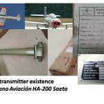 Fuel transmitter existence Hispano Aviacion HA-200 Saeta