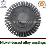 Nickel-based alloy vacuum casting used for aircraft jet engines