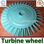 Superalloy turbine used for aircraft ultralight