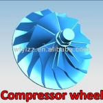 Blad wheel used for gas turbines and jet engines