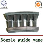 Guide vane for aviation parts
