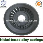 Axial turbine disk/blisk/wheel