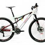 2013 29er full carbon suspension MTB bike/ carbon bicycle with free shipping-LAPLACE 29er Full carbon complete bike