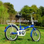 "20"" aluminum alloy shockproof and folding bicycle-GS2001"