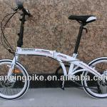 2014 the latest fashionable folding bike with F/R disc brake-16 20 26