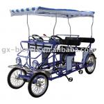 BLUE SURREY BIKE QUAD-CYCLE-