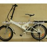 electric folding bicycle-