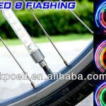 New Design Bicycle Sense of Shock Color Gas Nozzle, Hot Wheel Light-KNP-BS07