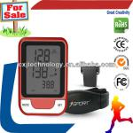 Promotional Gift Wireless LCD Cycle Bicycle Bike Computer Meter Odometer Speedometer Black gps mountain bike computer-C014+bicycle bike computer