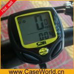 Wireless LCD Bicycle Bike Computer Odometer Speedometer Velometer-Bicycle Computer