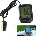 Digital LCD Cycle Cycling Bicycle Bike Computer Odometer Speedometer Velometer-CT4820