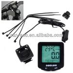 Bike Bicycle Wired Cycle Odometer Speedometer Black-CAC6249