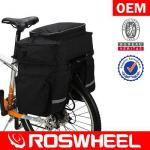 [14025] ROSWHEEL 3 in 1 rear pannier bag-14025
