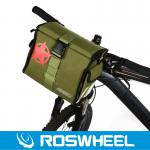 [11687] ROSWHEEL Inverted design for bicycle handlebar bag-11687