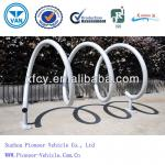 wave galvanized bike rack for parking bikes-PV-B01