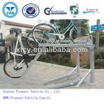 latest design double-deck bike rack, bicycle parking rack-PV-DH-6