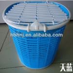 color bicycle basket with cover-HNJ-D-8628