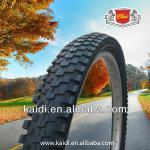 Good quality black rubber bicycle tyre 26x2.125-K-136