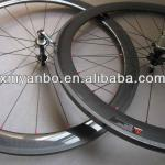 3k glossy 50mm chinese carbon wheels clincher for campagnolo-50mm carbon wheels