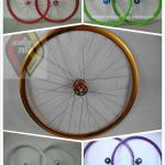 X-TASY 700C Alloy Double Wall Fixie Wheelset HWH-R3203-HWH-R3203