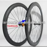 Farsports 700C new AERO 50mm clincher carbon wheels with high temperature durable brake surface-2014 FSC50-CM