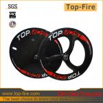2013 new design 700c carbon track disc wheel tubular bike disc wheels,carbon bicycle wheels for hot sale-WH- disc wheel