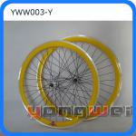 700C colorful fixed gear bike wheel set-YWW003