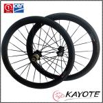BMX 50C(406) with Depth 50mm carbon rim china OEM high quality clincher Carbon BMX wheels for bmx bike-BMX 50C(406)  with Depth 50mm carbon rim china OEM