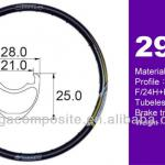 MTB Tubeless Clincher Rim 29 inch for bicycle-MR-29C+