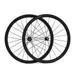 New Products for 2013 | 700C 23mm Wide 38mm Clincher Road Bicycle Carbon Fiber Wheels-