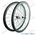 Top Quality Clincher 38mm Carbon Bicycle Wheels 3k/12k/UD Weave Glossy/Matte Finish With Basalt Braking Surface-CRBW38C