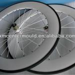 2013 white painted super light 3k Toray T700 carbon fiber clincher bike wheel 88mm-SDWL88C