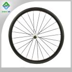 100% carbon fiber cross country road bike wheelset 38mm with NOVATEC hub for cycling-YA-W38C-02