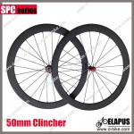 Only 1432g/pair!! Powerway R36 Straight Pull Hub 50mm clincher carbon wheelset 700c-ES-SP50C