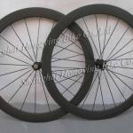 High performance 50mm clincher wheel full carbon rim 700C road-WS50C