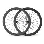 700C 23mm Width 50mm Tubular Road Rcing Bicycle Carbon Wheels-
