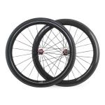 700C 23mm Width 60mm Clincher Road Rcing Bicycle Carbon Fiber Wheels-