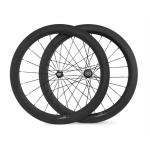 700C 23mm Wider 60mm Clincher Road Bike Carbon Fiber Wheelset-