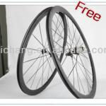 super light rims & hubs 38mm clincher wheelsets carbon chinese road bike-chinese road bike