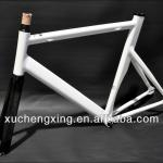 New design black and white Alloy bicycle frame/track bike-700C