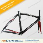 hopewell racing&mountain&road carbon frame free for fork+seatpost+Headset +clamp carbon frame set-