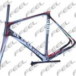 2014 Popular Super light Toray T800 De Rosa 888 SuperKing full carbon fiber Road Racing frames . De Rosa 888 SuperKing bike .-064