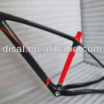 Newest High Quality full carbon mountain bike frame, bicycle carbon MTB frame, 29er carbon frame mtb-DS-MF015