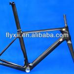 Full Carbon 3K Glossy Road Bike BB30 Frame Fork Seatpost Clamp Headset FLX-FR-315-FLX-FR-315