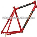 "New arrival U6 Alloy +carbon 28"" TREKKING FRAME bicycle frame-"